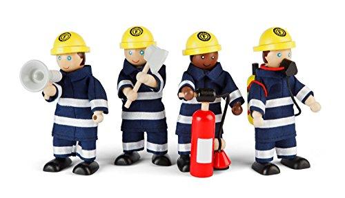 Tidlo T-0117 - Feuerwehrmänner, Spielfigur
