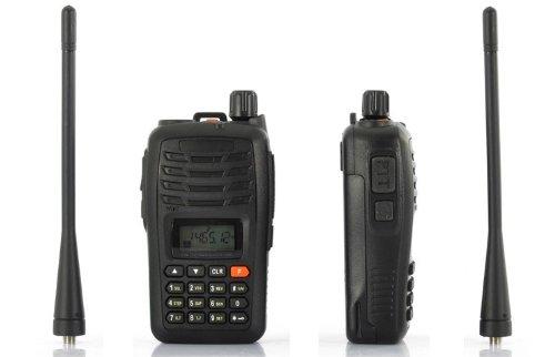 Long Range Walkie Talkie Set - 3-5 km Range, UHF, VOX, 110v