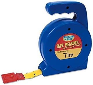 Learning Resources Play Tape Measure, 3 Feet Long
