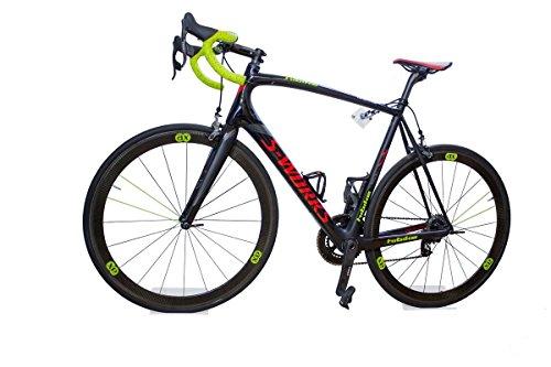 Spar-Set für 2 Fahrräder: 2x trelixx - Allround Fahrradwandhalter aus Plexiglas® Acrylglas, platzsparende Fahrradaufbewahrung, Radhalter Wandmontage