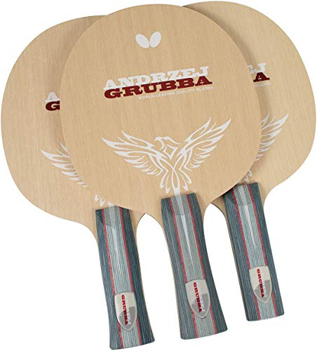 Best Bargain Butterfly Andrzej Grubba Table Tennis Blade - All Wood Andrzej Grubba Blade - Professio...
