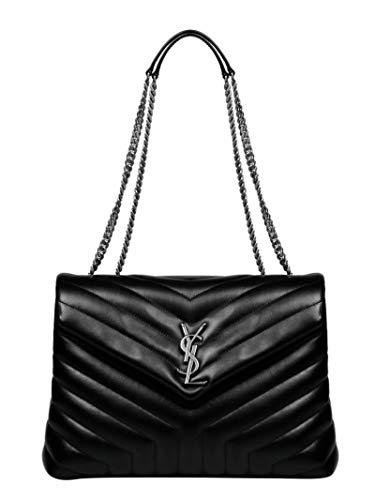 Saint Laurent Luxury Fashion Damen 574946DV7261000 Schwarz Leder Handtaschen | Herbst Winter 20