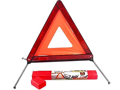CARALL Triangolo Emergenza, Triangolo Auto Pieghevole,Omologato E27 27R031004,Confezione Con Dimensione Ridotto,Per Emergenza Stradale