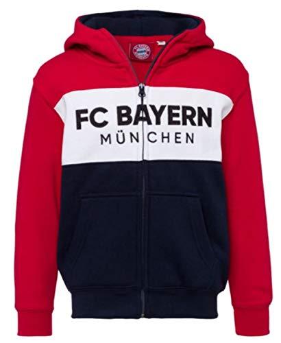 FC Bayern München Kinder Kapuzenjacke Jacke Kids (164)