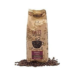 BELLUCCI Caffè Vivace Puissant/Corsé Café en Grains Torréfaction Italienne 500 g
