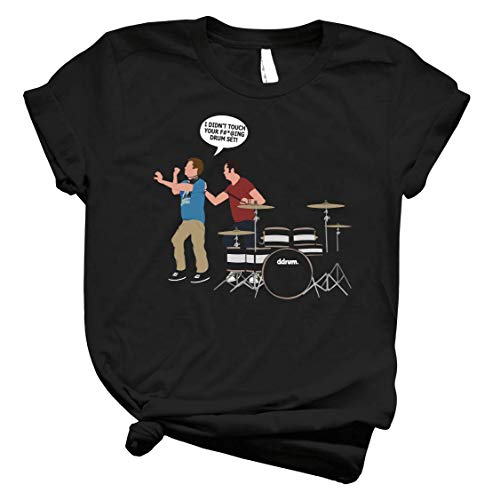 Step Brothers Drum Set - Mens T Shirts Graphic Vintage – Best Trendy Womens Customize for Kids Top of