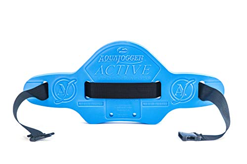 AquaJogger Active Belt 48 Inch, The Leader in Aquatics Exercise, Suspends Body Vertically in Water, Pool Fitness