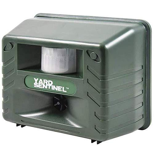Aspectek | Electronic Ultrasonic Pest Animal Repeller, Pest Control, Rodent Repellent with Motion Sensor - Green