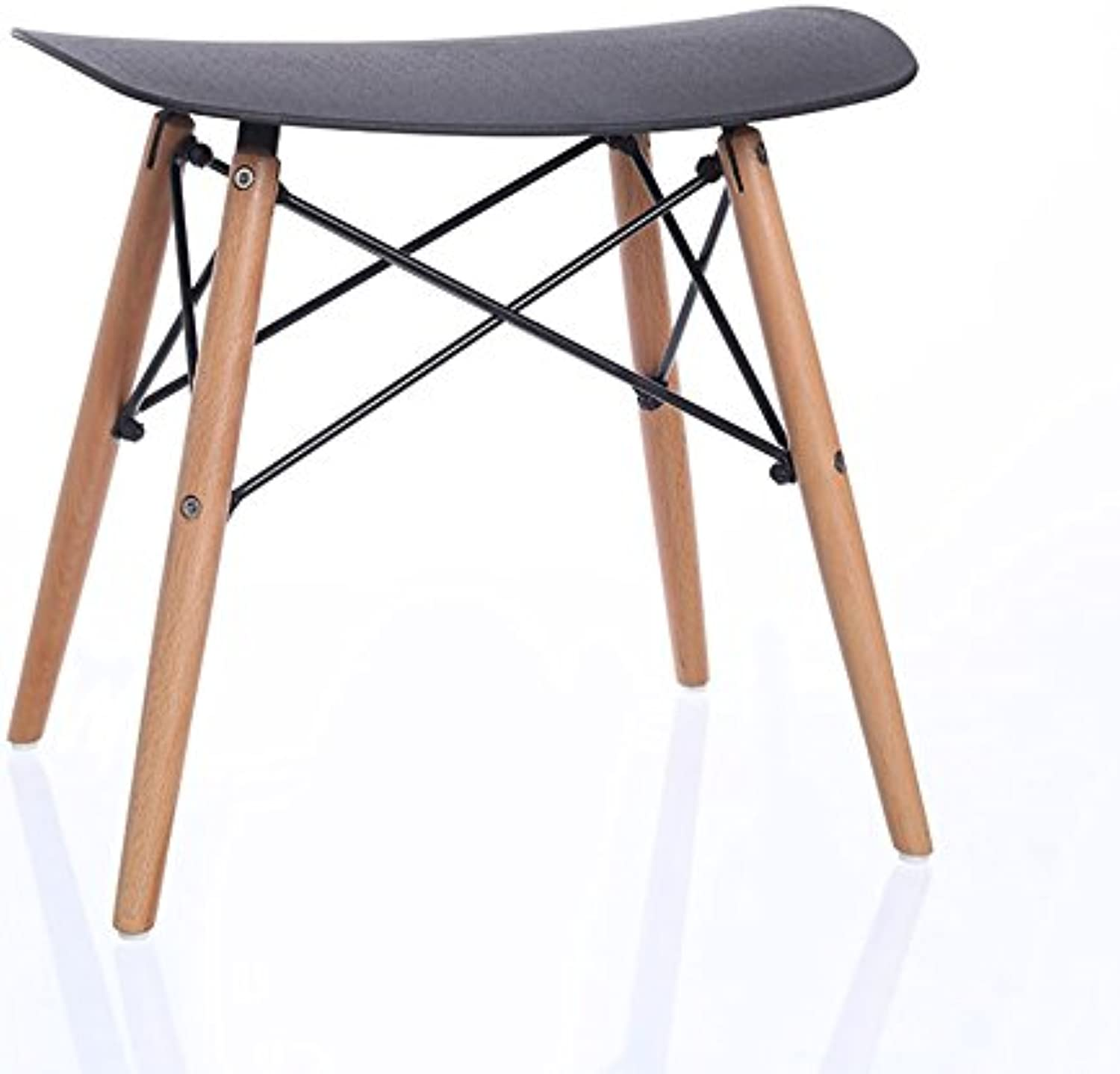 ZfgG Seat Creative Modern Simple Dining Stool Vanity Stool Make-up Stool Bench Stool Bench Size (35  48  47.5 cm),Applicable Bar Restaurant Counter (color   B)