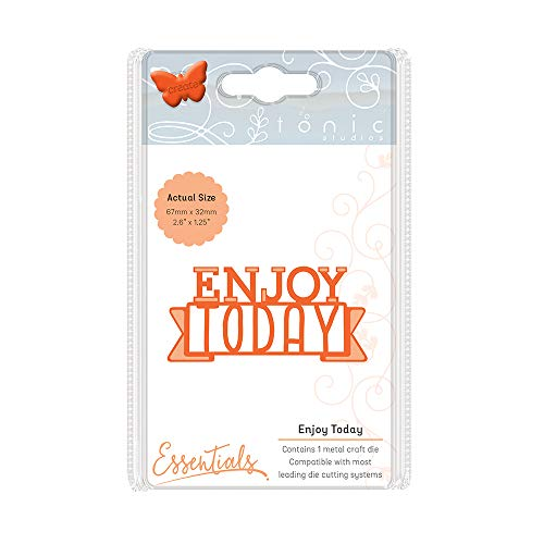 Tonic Studios Miniature Moments-Enjoy Today, Metal, Multi-Colour, 15.5 x...