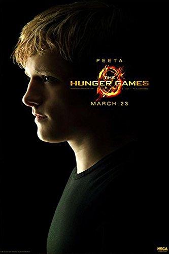 Póster Hunger Games/Los Juegos del Hambre - Peeta (68,5cm x 101,5cm) + 1 póster Sorpresa de Regalo