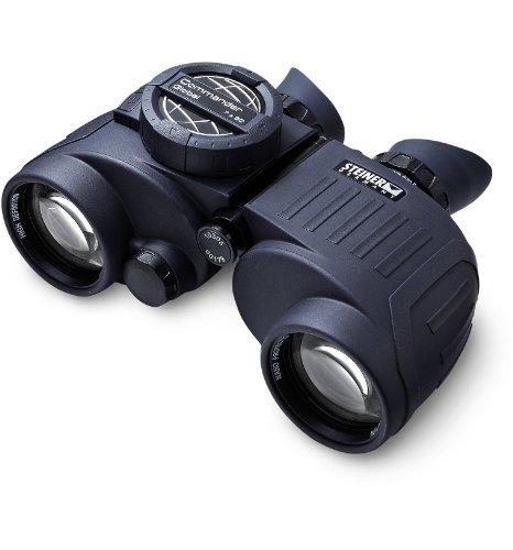 Steiner Commander Series 7x50 Marine Binoculars, Performance Marine Optics to Navigate Low Light or Fog, With Global Compass