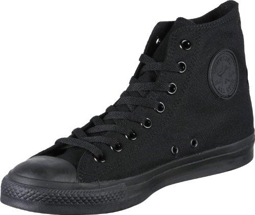Converse All Star Hi Canvas Sneakers Nero Monocromatico-UK 5