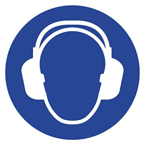 Señal de Seguridad Laboral Anro | Se Requiere protección auditiva | Señal de Seguridad Hecha...