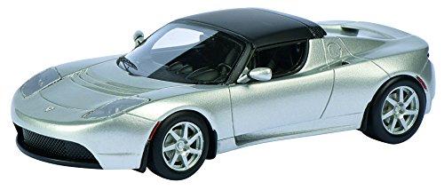 Schuco - Modelo Tesla Roadster, 01:43, Plata (Plata)