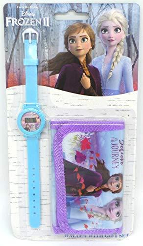 TDL Disney Frozen Set Regalo Orologio + Portafoglio - Licenza Ufficiale -Watch & Wallet