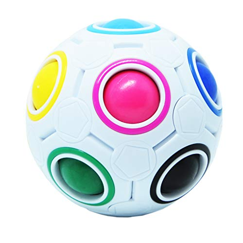 Maomaoyu Magic Rainbow Ball, Magic Cube Speed Puzzle Ball velocità Magico Cubo Stress Alleviare Giocattolo