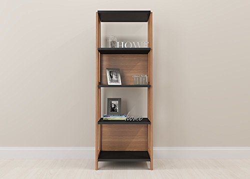 Magtec Trendline Collection Desk with 3 Drawers, Hanover and Black