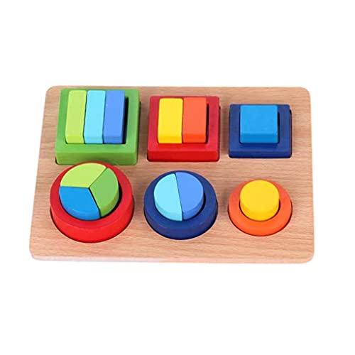 Amagogo Kinder Holz Geometrie Form...