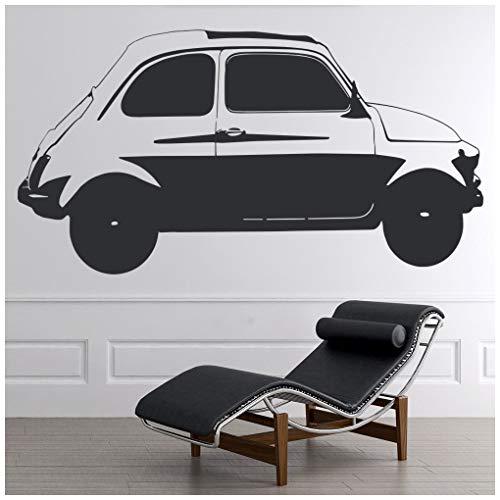 azutura Oldtimer Fiat 100 Auto Wandtattoo Klassischer Transport Wand Sticker Retro Wohnkultur verfügbar in 5 Größen und 25 Farben X-Groß Eis Blau