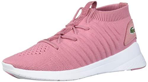 Lacoste Women's LT FIT Shoe, Pink/White, 9.5 Medium US