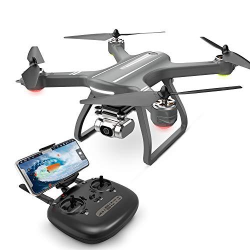 Eanling GPS Drohne HS700D mit 2K Kamera,5G WLAN Live Übertragung,Automatische Rückkehr,Follow Me,RC Quadrocopter ferngesteuert mit Lange Flugzeit,brushless Motor live Video für Anfänger und Experte