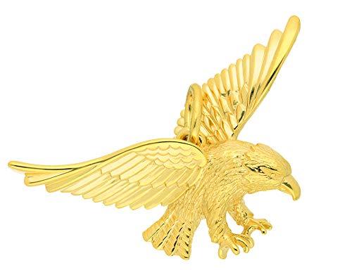 Damen Goldschmuck 333 Gold Anhänger Adler