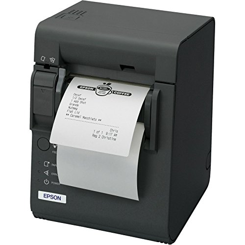 Epson TM-L90 - Etikettendrucker (Thermische Leitung, 203 x 203 DPI, 150 mm/sek, Verkabelt, 360000 h, Grau)