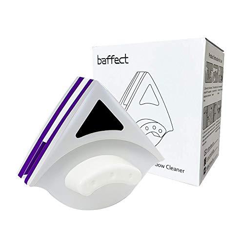 Baffect Startseite Double Side Magnetic Window Cleaner Beide Seiten-Glaswischer Werkzeuge Oberflächenreinigungsbürste mit ergonomischem Griff-Design für Hoch Autoverglasung Stärke 18-30mm