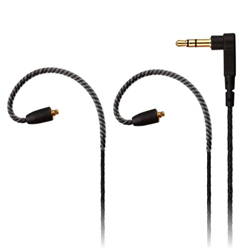 REYTID Replacement 5N Audio Cable Compatible with Shure SE215 SE425 SE535 SE846 SE315 Headphones - Compatible with iPhone and Android