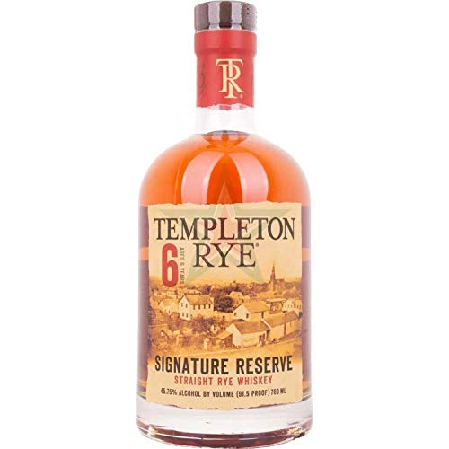 Templeton Rye Whiskey 6 Year , Roggen-Whiskey 45.75% vol.,