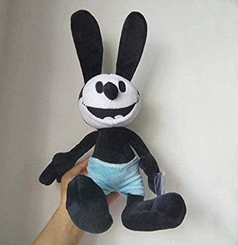NC58 Juguetes de peluche Oswald el conejo afortunado de 25 cm de peluche de peluche, muñecas de animales de peluche para niños adornos de regalo personalizados