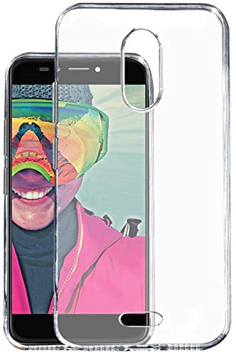 KOVERZ Soft Silicone TPU Jelly Crystal Clear Soft Back Case Cover for Micromax Selfie 2 Note Q4601 -Transparent
