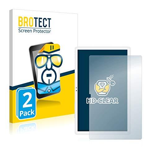 BROTECT Schutzfolie kompatibel mit Samsung Galaxy Tab A7 10.4 WiFi 2020 (2 Stück) klare Bildschirmschutz-Folie