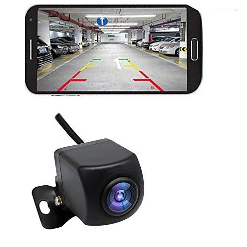 KKmoon Caméra de Recul Sans Fil HD, WIFI Caméra de Recul pour Voiture, Caméra de Recul WiFi avec Vision Nocturne, Moniteur de Recul Sans Fil LCD étanche IP67