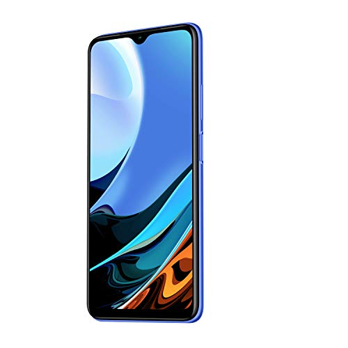 Redmi 9 Power (Blazing Blue, 4GB RAM, 64GB Storage) - 6000mAh Battery |FHD+ Screen| 48MP Quad Camera | Alexa Hands-Free Capable 3
