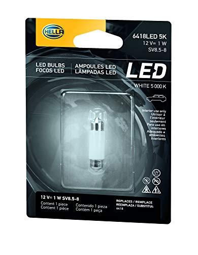 HELLA 8GL 178 560-561 Glühlampe - LED - LED Retrofit - 12V/1W - Blisterpack - Menge: 1