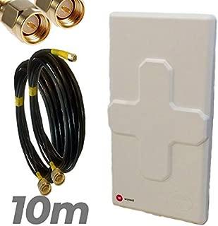 Pa RETYLY Nrf24L01 Lna 2.4G 1100M SMA Antena Inal/ámbrico M/ódulo de Comunicaci/ón del Transceptor