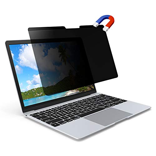 Anti Blue Light and Anti Glare WS Screen Protector Magnetic Privacy Screen for New MacBook 12 inch Model Number A1534