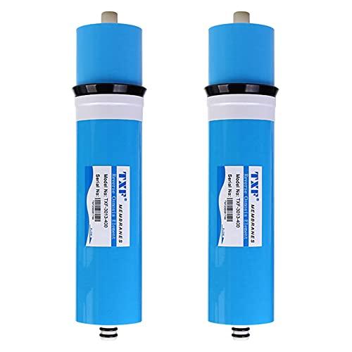FILTER Membrana de 400 GPD RO, 3013-400GPD Membrana de ósmosis inversa de Filtro de Agua para Sistema de purificación de Agua RO de 5 etapas Debajo del Fregadero