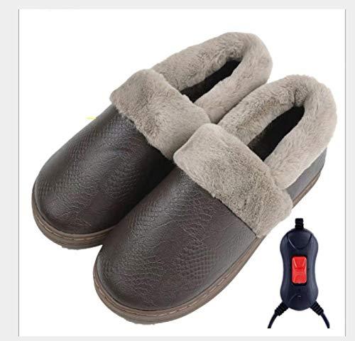 Calentador De Pies Eléctrico Zapatillas