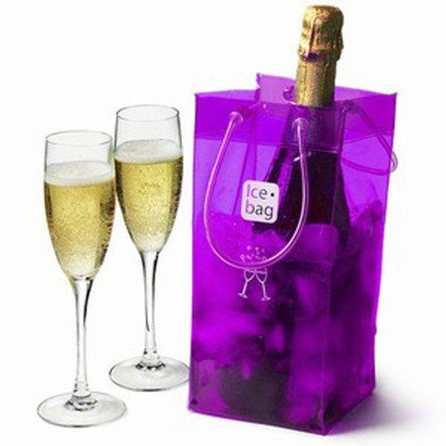 Ice-Bag® Lila/Violet/Purple Weinkühler - Sektkühler - Flaschenkühler - 0,5 mm