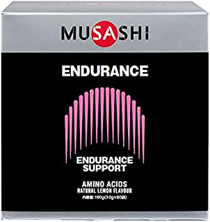 MUSASHI ENDURANCE スティック 3.0g×60本 ムサシ エンデュランス 60袋