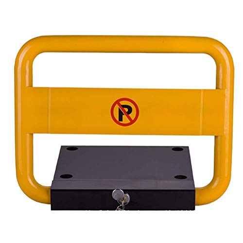 Barrera de aparcamiento abatible manualmente, L470xH360x370mm
