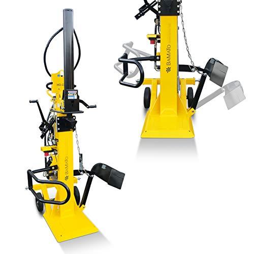 BAMATO Holzspalter stehend/HO-22EP / Elektro- und Zapfwellenantrieb, 400 V, Spaltkraft 22 Tonnen