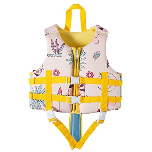 Schwimmweste Jacke Neopren Schwimmanzug Jungen 1-12 Jahre Alt Kinder Mädchen Schwimmhilfen Auftrieb Bademode Einstellbar Schwimmen Lernen Tauchen Strand Surfen Sicherheit 23-30 kg,S 1
