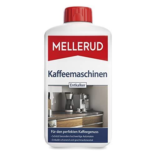 MELLERUD Kaffeemaschinen Entkalker – Wirkungsvolles Mittel zur Entkalkung aller Kaffeemaschinen – 1 x 1 l