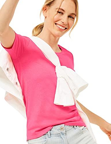 Cecil Lena Camiseta, Coral neón, XL para Mujer