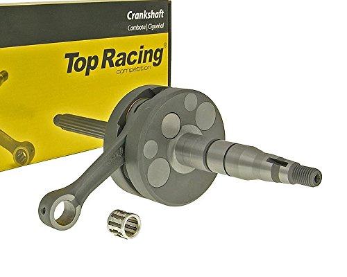 Kurbelwelle TOP RACING Evolution NG 10mm für SIAMOTO Birdie 50cc, SIMSON Spatz, YAMAHA Aerox, Axis