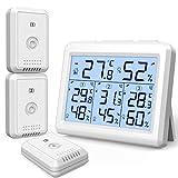 AMIR Digitale Termometro Igrometro per Interno Esterno, Misu